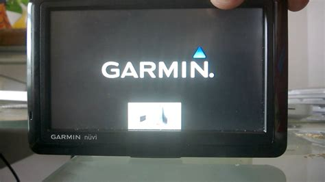 Garmin nuvi 1490 - how to go past the computer update icon