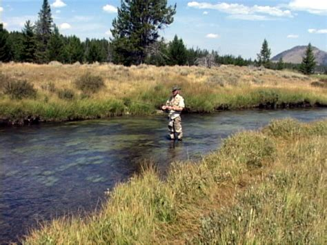 Fly Fishing the Gardner River of Yellowstone National Park