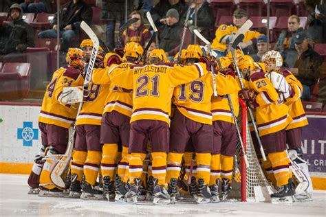 Minnesota Hockey: Gophers Predicted to Finish 4th in Big