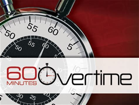 """New Web Show, """"60 Minutes Overtime,"""" To Debut - CBS News"""