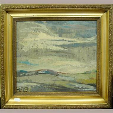 Attributed to Sibylle Cole-Duijts, 20th century, landscape