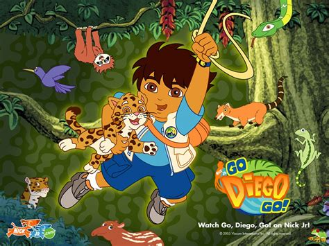 All about disney channel: Go Diego Go