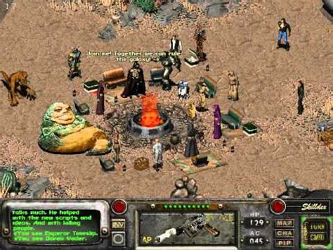 Fallout 2 - Star wars encounter - YouTube