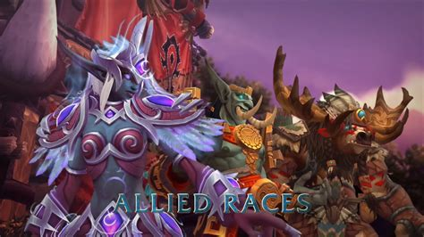 New Allied Races Coming in Battle for Azeroth Expansion