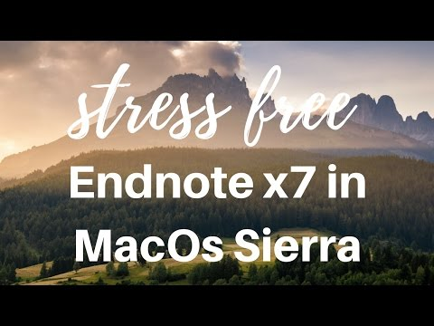 Endnote free download for windows 7 full version   EndNote