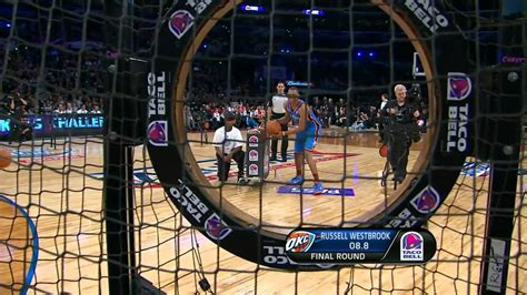 Stephen Curry Wins the Skills Challenge - YouTube