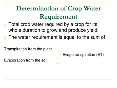 PPT - PRINCIPLES OF IRRIGATION PowerPoint Presentation
