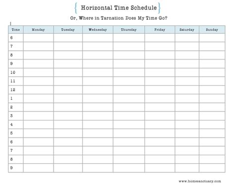 Home Sanctuary: Where Does Your Time Go? Housekeeping