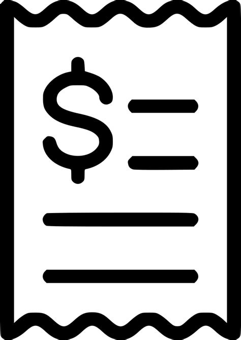 Payment Bill Svg Png Icon Free Download (#568450
