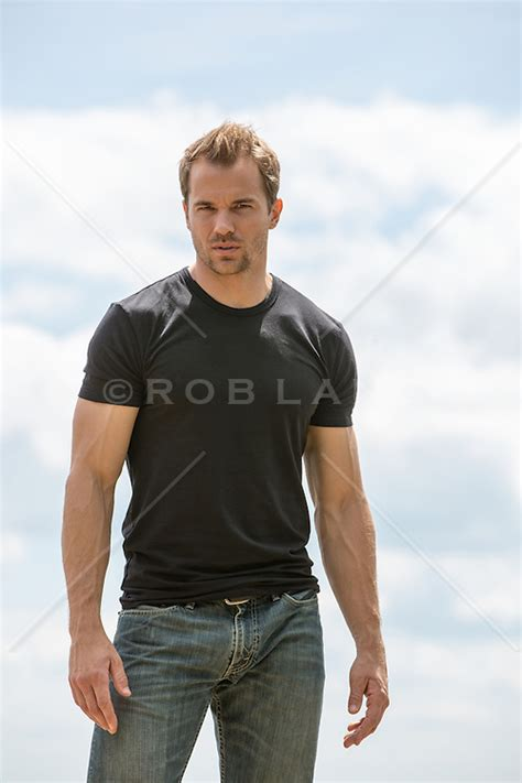 hot All American man outdoors | ROB LANG IMAGES: LICENSING