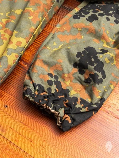 Reversible Insulated Coaches Jacket in German Camouflage