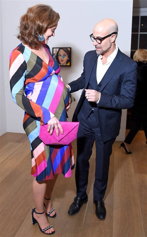 Stanley Tucci's Wife Felicity Blunt Is Pregnant With Baby