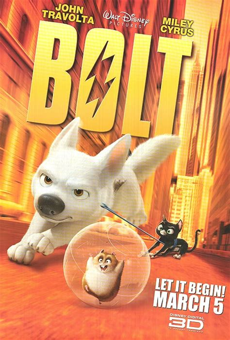 Bolt movie posters at movie poster warehouse movieposter