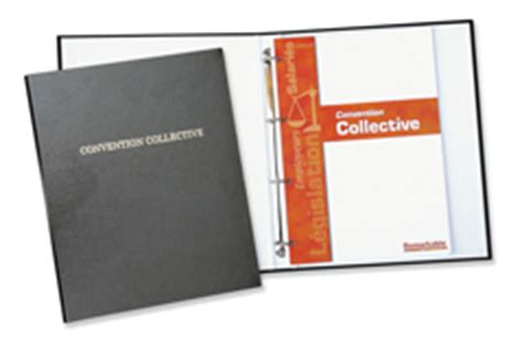 convention collective, Conventions collectives nationales