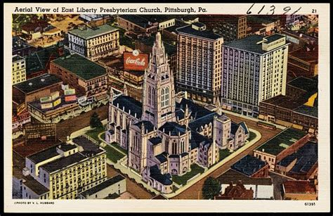 File:Aerial view of East Liberty Presbyterian Church