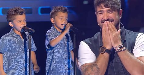 Twins Leave Judges On The Voice Kids Speechless With Their