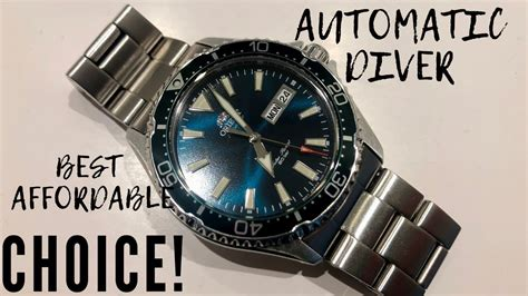 Great Affordable Diver - Orient Mako III / Kamasu Is A