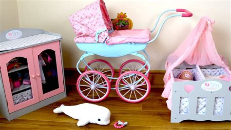 Baby Annabell Carriage Pram Baby Dolls Bedroom Morning