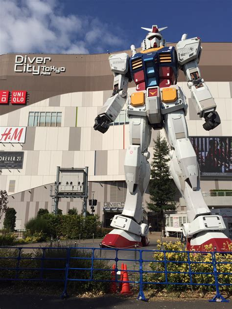 Diver City Tokyo: the ultimate Gundam experience
