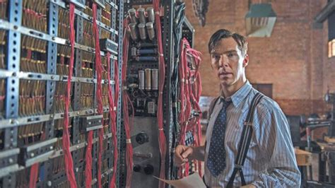 Cumberbatch as Alan Turing, Enigma – Baker St to Bletchley