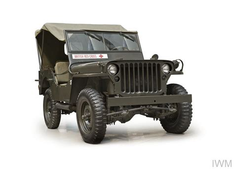 Willys MB Jeep 4x4 (Red Cross)   Imperial War Museums
