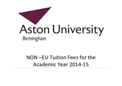 Tuition fees 201415