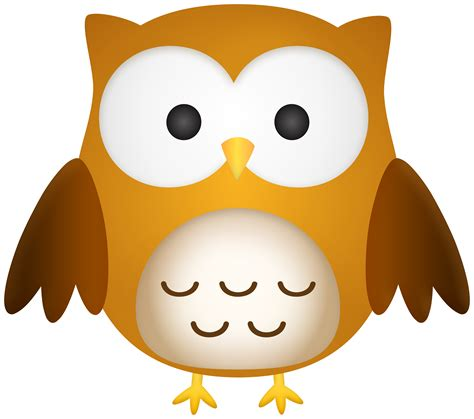 Cute Owl Cartoon PNG Clipart | Gallery Yopriceville - High