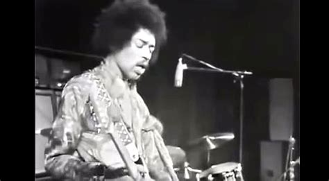 See Where It All Began! Jimi Hendrix Performs Voodoo Child
