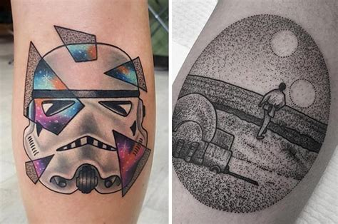 """28 """"Star Wars"""" Tattoos That Will Awaken The Force In You"""