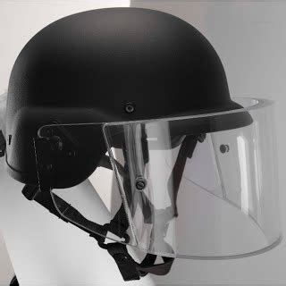 PASGT With Level II Face Shield - Tempered Tactical