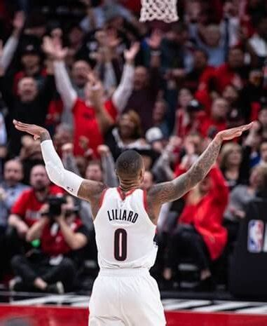 """What Pros Wear: Damian Lillard Says """"Bombs Away"""" After"""