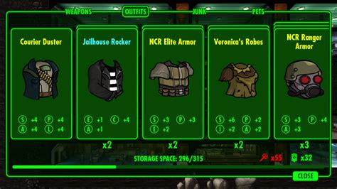 New Vegas Costume Mod Pack - Fallout Shelter Mods