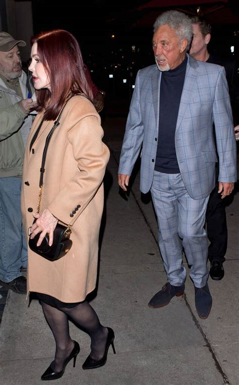 Why Priscilla Presley and Tom Jones Sparked Romance Rumors