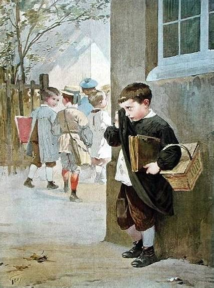 I am a child | Henry Jules Jean Geoffroy | French Artist