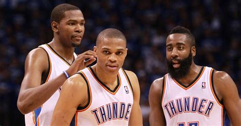 What the Oklahoma City Thunder's roster would look like if