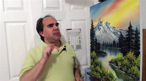 """How to Paint """"Bob Ross"""" Pine Trees: Oil Painting Demo"""