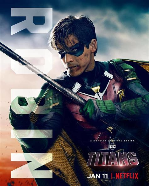 Titans new character posters for Netflix welcome the team