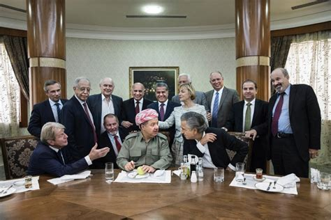« With Massoud Barzani, the Day After the Referendum », by