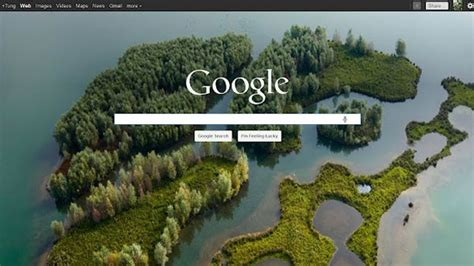 Use Bing's Beautiful Backgrounds as Your Rotating Google