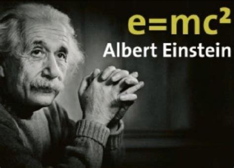 Today in science: Albert Einstein and E=mc 2