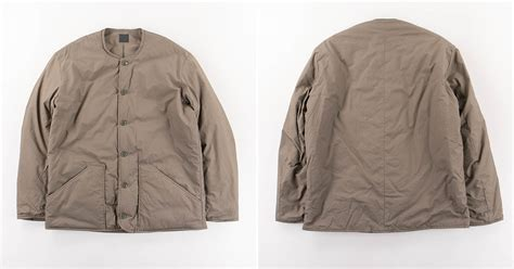 orSlow Made in Japan Greige Shell Jacket