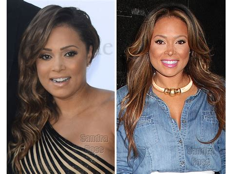 Singer Tamia Debuts Her New Nose