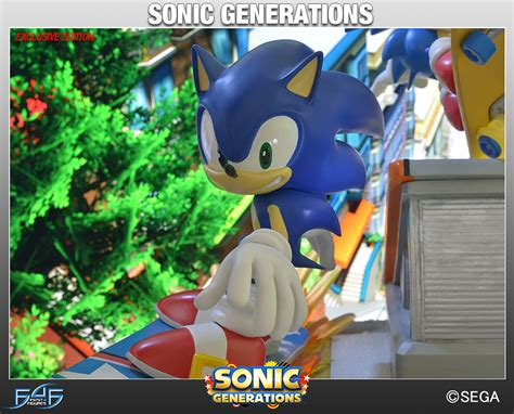Sonic Generations gets captured in another amazing statue