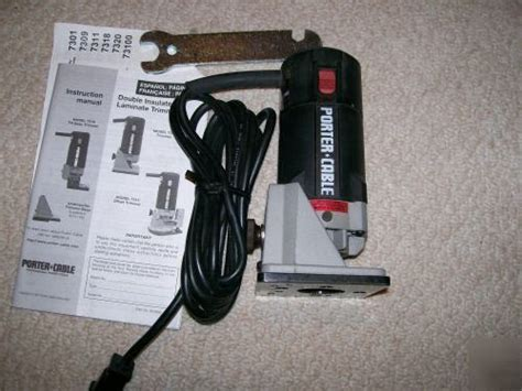 Porter cable 7301 laminate trimmer/ router w/ 7309 base