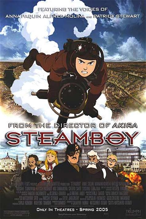 Steamboy movie posters at movie poster warehouse