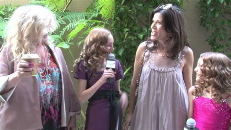 Connie Stevens and Tricia Fisher Interview at the 2012 Pre