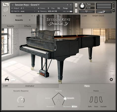 e-instruments Session Keys Grand Piano instruments for
