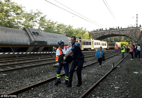 At least four people have died after a train derailed near