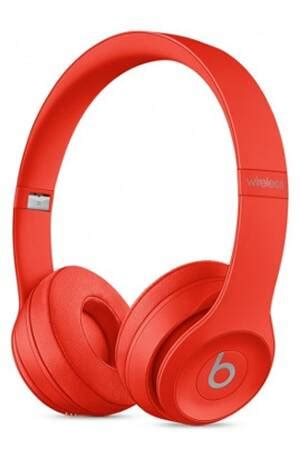 Casque audio Beats SOLO 3 WIRELESS ROUGE - MP162ZM/A | Darty