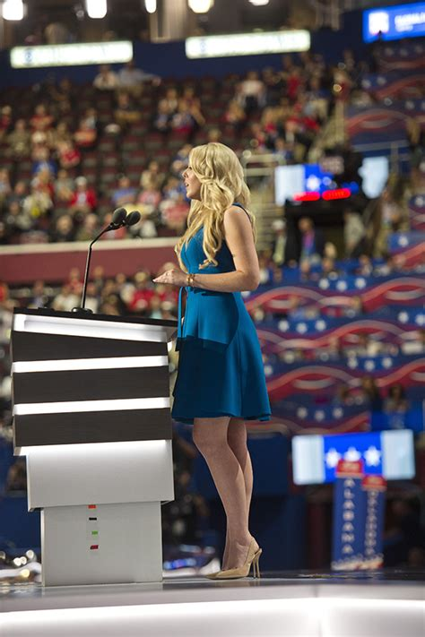 Tiffany Trump's Dress At The RNC: See Her Bright Blue